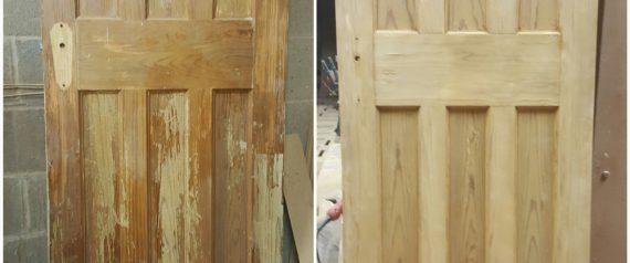 20170203_103334 & Scotland Door Stripping